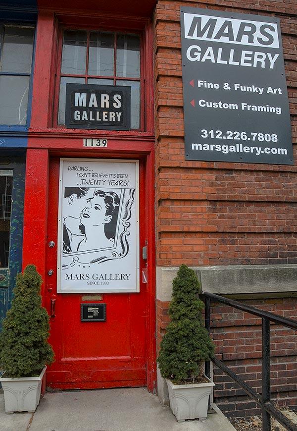 1139 Mars Gallery front door